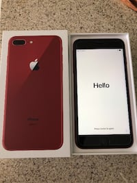 iPhone 8 Plus red New York