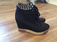 Pair of black suede boots London, N6E 2W8