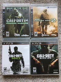 COD 4 Game Set Brampton, L7A 1B2