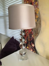 brown and white table lamp Fort Lauderdale, 33315