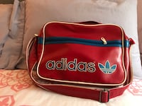 Red and black adidas bag Montréal, H1C