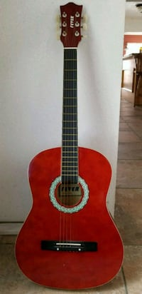 Red and Black Fever Acoustic Guitar  Huntington Park, 90255