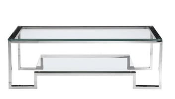 New Ellesmere Chrome Coffee Table
