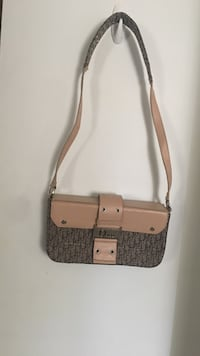 white and gray leather crossbody bag Sterling, 20164
