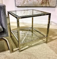 Side table (Nickel frame) (NEW)