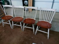 Wooden chairs Elwood