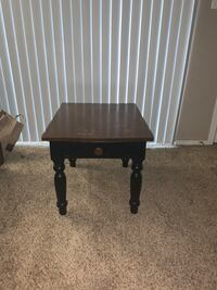 Two side tables and coffee table