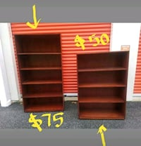 CURVED FRONT BOOKCASES FOR SALE