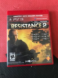 PS3 resistance 2 Abbotsford, V2S 0B6