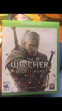 The Witcher Wild Hunt Xbox One game case Thornton, 80260
