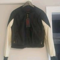 Faux Leather Jacket - New With Tags  Mississauga, L5K 2R4