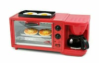 3in 1 Deluxe Breakfast Station, Red South Gate, 90280