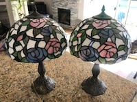 Vintage stained glass lamps, set of 2 Livermore, 94550