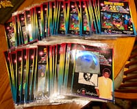 Laser Blazers 3-D Holographic Stickers By Colorforms Rockville, 20850