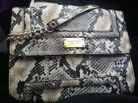 gray and black snakeskin leather long wallet Burleson, 76028