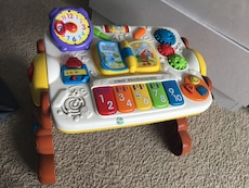 multi-color Vtech musical toy