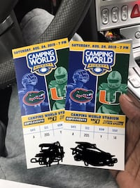 Gators vs Miami  Gainesville, 32608