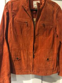 Never worn Women's size L suede jacket. Non smoking home. Grand Haven