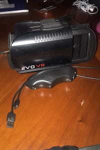 Evo VR headset with controller for phone.