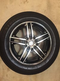 4 chrome 10-spoke car wheels r15 Nueva York, 10465