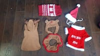 Dog Christmas clothes and accessories