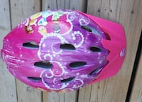 pink and purple bike helmet London