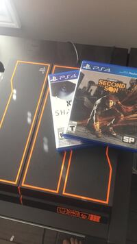 **PS4 LIMITED EDITION BLACK OPS CONSOLE- 2 GAMES, 2 TB HDD INCLUDED**