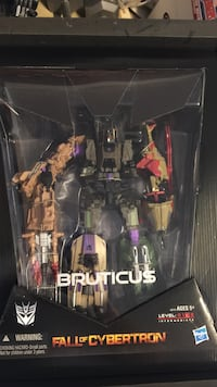 Fall of cybertron bruticus comic con Transformers