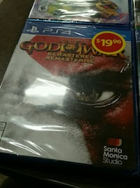God of War Remastered PS4 game case Sudbury, P3A 1Z7