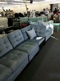 Gtay Couch Sectional (Damaged) Houston, 77092