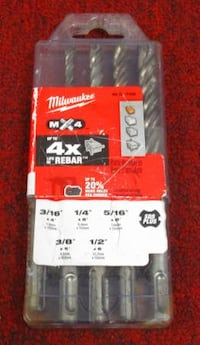 Milwaukee Carbide Bit Kit