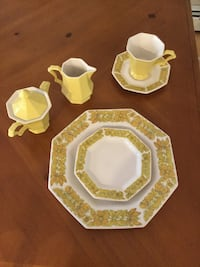 Dinner plates, cups, saucers and salad plate New Windsor, 12553