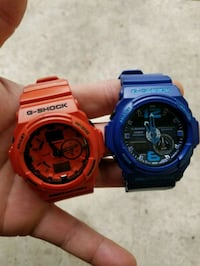 Red and blue G shocks  McClellan Park, 95652