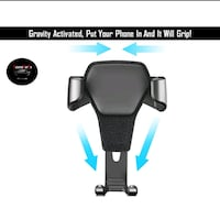 Aircon vent clop on phone holder Singapore, 738343