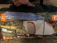 Canopy connect tent