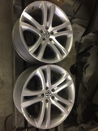 Two 19Inch Volkswagen rims for $150 each or $300 for both of them Maple Ridge, V2W 0B1