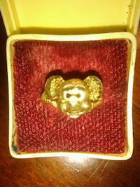 10k gold Mickey Mouse Ring 2207 mi