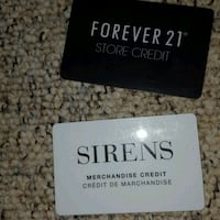 Sirens and forever 21