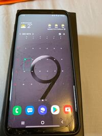 Samsung s9(cracked screen). Mississauga, L5C 3A4
