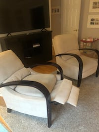 Chairs -  set of recliners Rockville, 20853