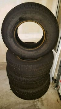 265/75/R16 Cooper Studded Snow Tires. Spanaway, 98387