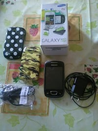 Nero Samsung Galaxy Next con due custodie e carica Meda, 20821