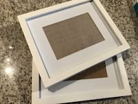 Set of 2 White Frames Toronto, M5V 3N4