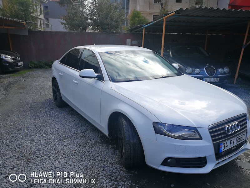 2012 Audi A4 1.8 TFSI 160 HP MULTITRONIC 7