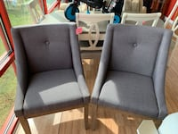 New Pair of Grey Accent Chairs  Virginia Beach, 23462