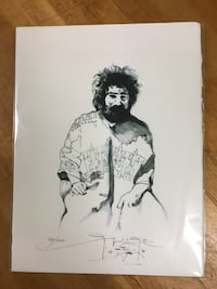 Jerry Garcia Drawing by Stanley Mouse Putnam Valley, 10579