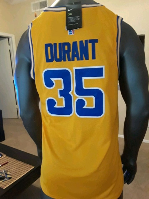 premium selection 8a0c6 30c57 Kevin durant #35 Golden state warrior jersey shirt