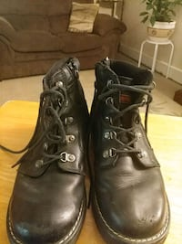 Womens Harley Davidson Black Leather Boots Rome, 30161