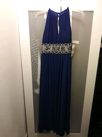 Royal Blue Long Dress 69 km