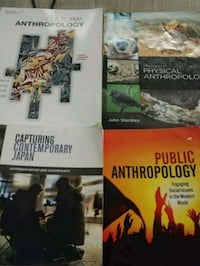 Anthropology Textbooks (uog) Guelph, N1E 3Z5